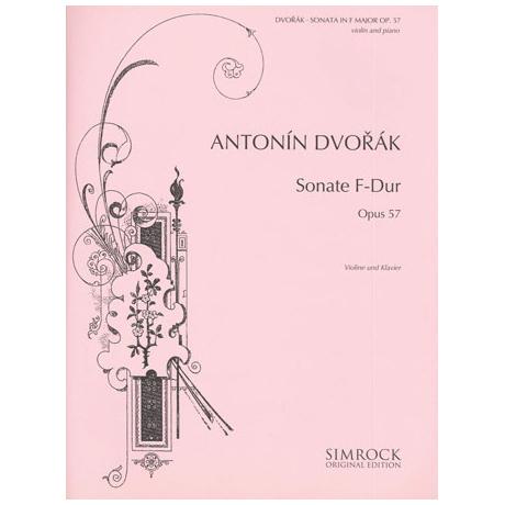 Dvořák, A.: Violinsonate Op. 57 F-Dur