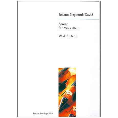 David, J.N.: Sonate Werk 31/3 (1945)
