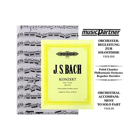 Bach, J.S.: Violinkonzert Nr. 2 E-Dur, BWV 1042 Compact-Disc CD