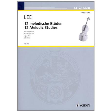 Lee: 12 melodische Etüden op.113