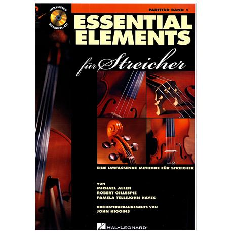 Allen, M. : Essential elements für Streicher Band 1 (+CD)