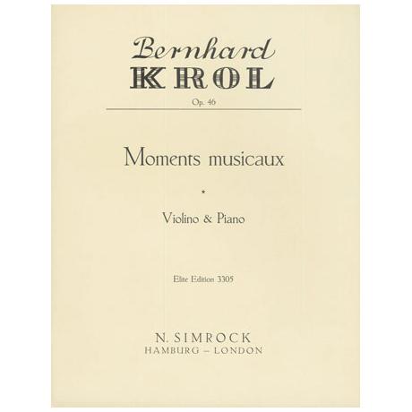 Krol, B.: Moments musicaux