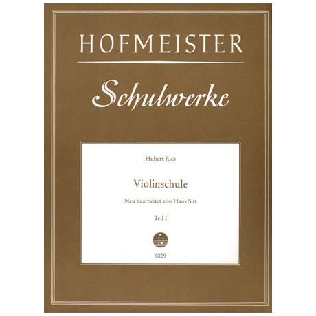Ries, H. / Sitt, H.: Violinschule Teil 1