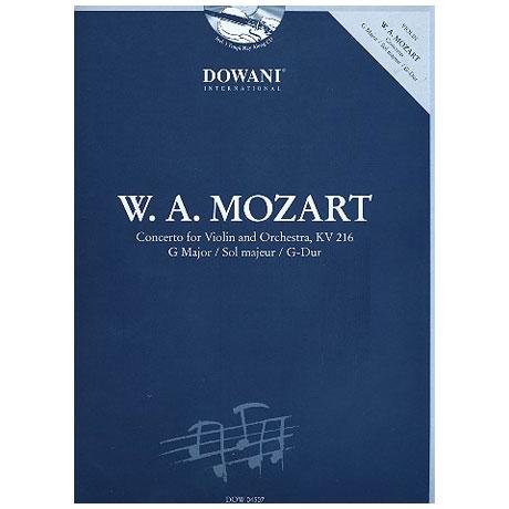 Mozart, W.A.: Konzert Nr. 3 KV 216 G-Dur (+CD)