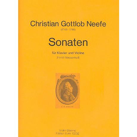 Neefe, C.G.: Sonaten