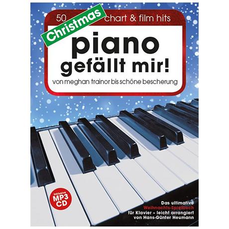 Heumann, H.-G.: Piano gefällt mir! – Christmas (+CD)