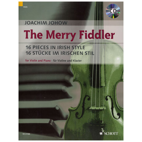 Johow, J.: The Merry Fiddler (+CD)