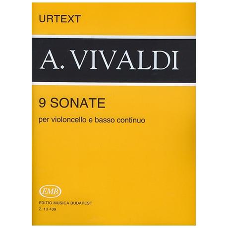 Vivaldi, A.: 9 Sonaten