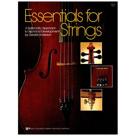Anderson, Gerald E.: Essentials For Strings