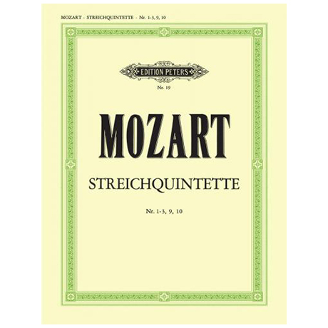 Mozart, W. A.: Streichquintette Band 2, KV 46, 174, 407, 581, Anhang 179/226