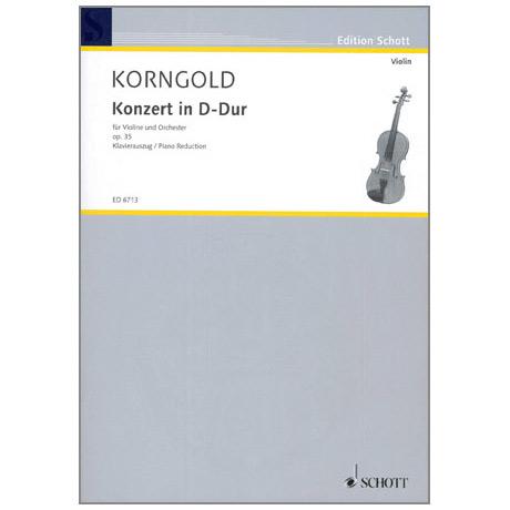 Korngold, E.W.: Konzert D-Dur Op.35