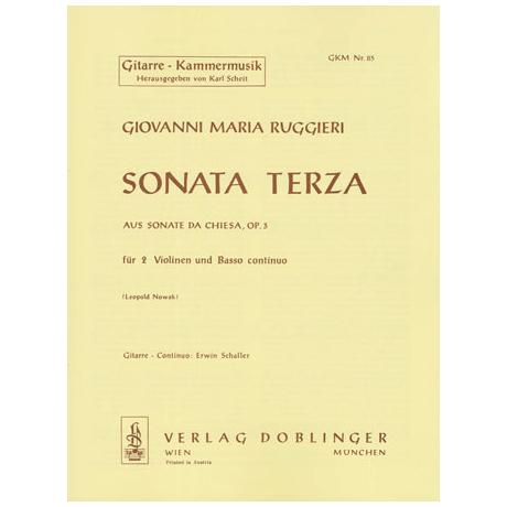 Ruggieri, G.M.: Sonata terza B-Dur Op.3
