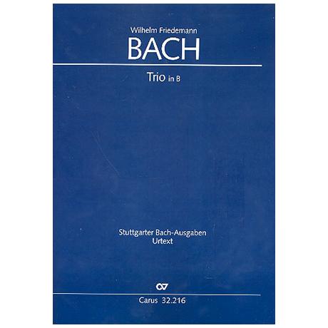 Bach, W.F.: Trio in B
