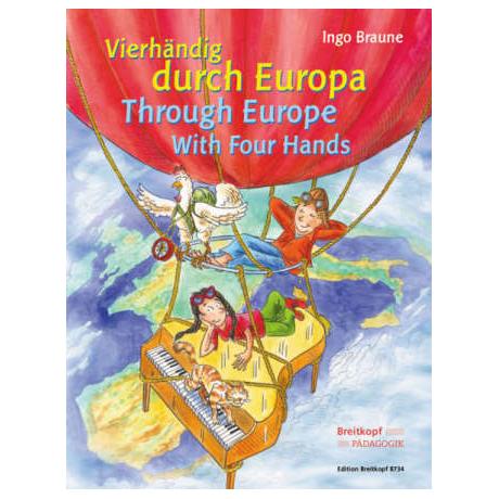 Vierhändig durch Europa (I. Braune)