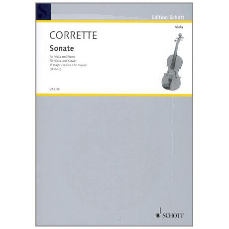 Corette, M.: Violasonate B-Dur