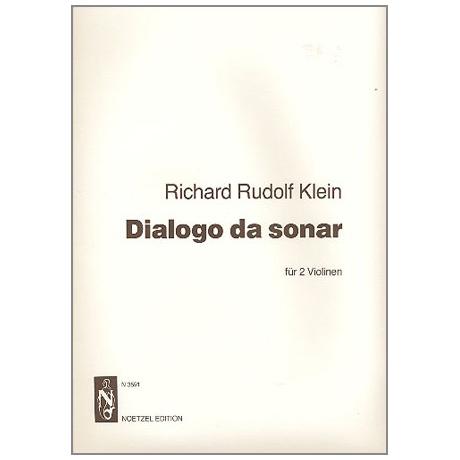 Klein, R. R.: Dialogo da sonar
