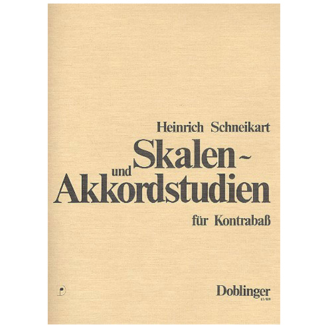Schneikart, Heinrich: Skalen- und Akkordstudien