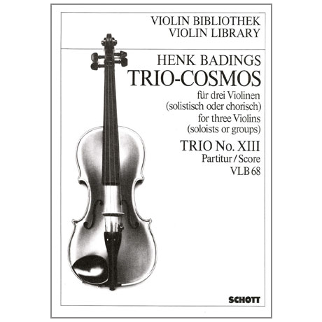 Badings, H.H.: Trio-Cosmos Nr.13