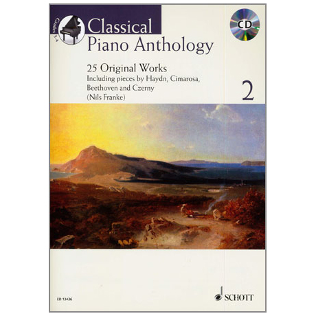 Classical Piano Anthology Band 2 (+CD)