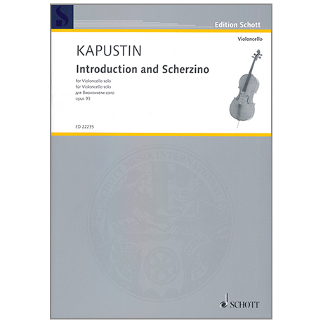 Kapustin, N.: Introduction and Scherzino Op. 93