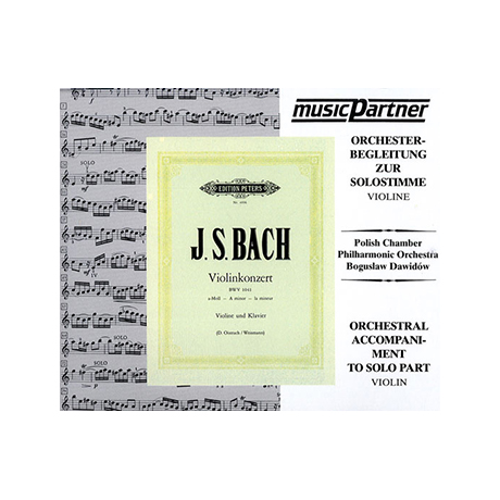 Bach, J.S.: Violinkonzert Nr. 1 a-moll, BWV 1041 Compact-Disc CD