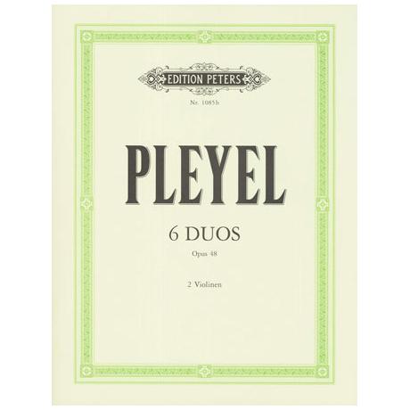 Pleyel, I.J.: 6 kleine Duos Op.48