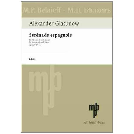 Glasunow, A.: Serenade espagnole Op.20 Nr.2