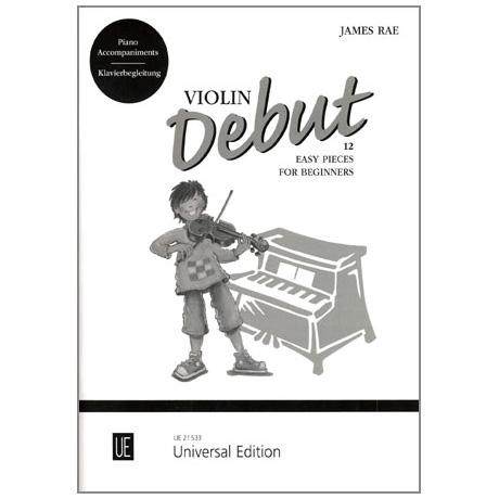 Rae, James: Violin Debut (+CD)