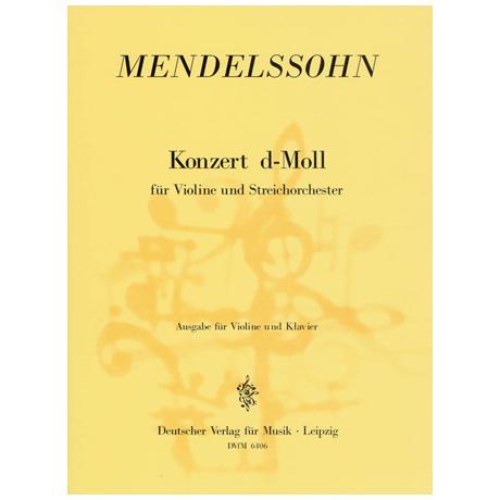 Mendelssohn Bartholdy, F.: Violinkonzert d-Moll
