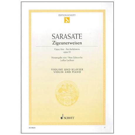 Sarasate, P.: Zigeunerweisen Op.20