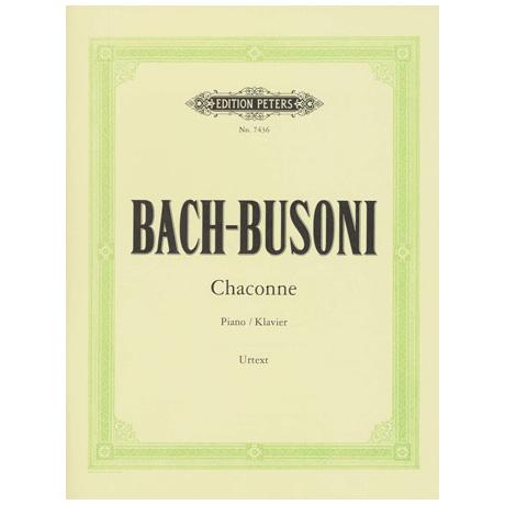 Bach-Busoni: Chaconne d-Moll BWV 1004