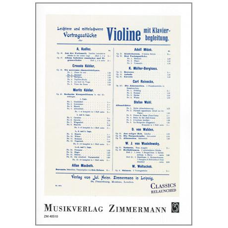 Köhler, E.: Berceuse Op.30 Nr.2
