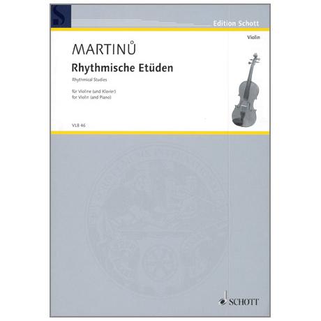 Martinu, B.: Rhythmische Etüden H 202 (recte 216/217)