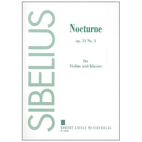 Sibelius, J.: Nocturne Op. 51/3