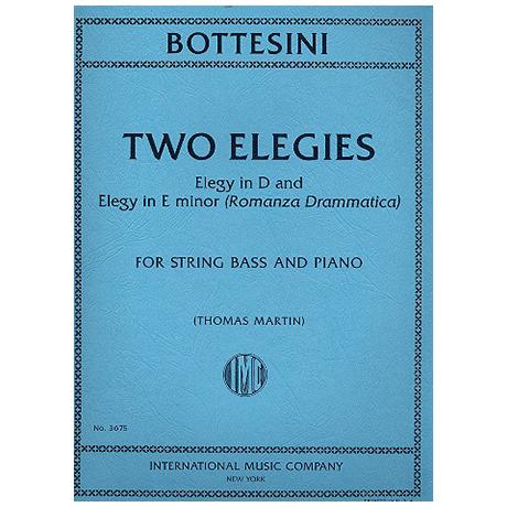 Bottesini, G.: 2 Elegies