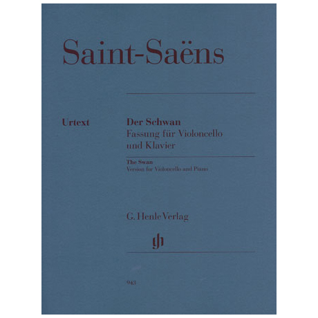 Saint-Saëns, C.: Der Schwan (Le cygne)