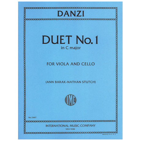 Danzi, F.: Duett No.1
