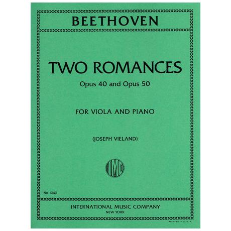 Beethoven, L.v.: Zwei Romanzen Op. 40 & Op. 50
