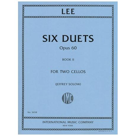 Lee, S.: 6 Duets Op.60 Band 2 (Nr.4-6)