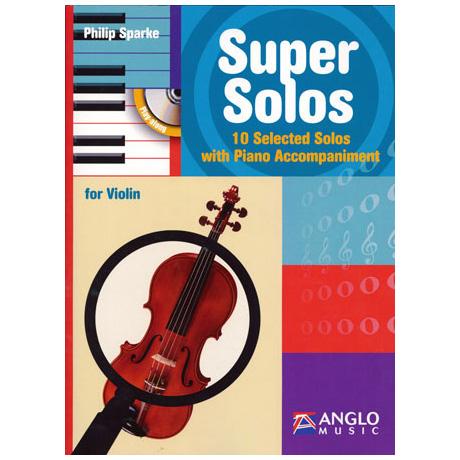 Sparke: Super Solos (+CD)