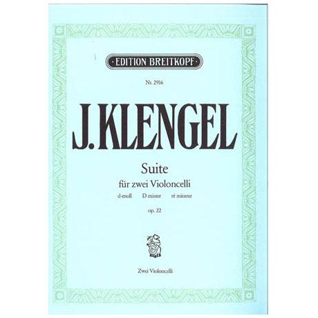 Klengel, J.: Suite d-moll für 2 Violoncelli, op. 22