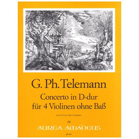 Telemann, G.Ph.: Konzert D-Dur