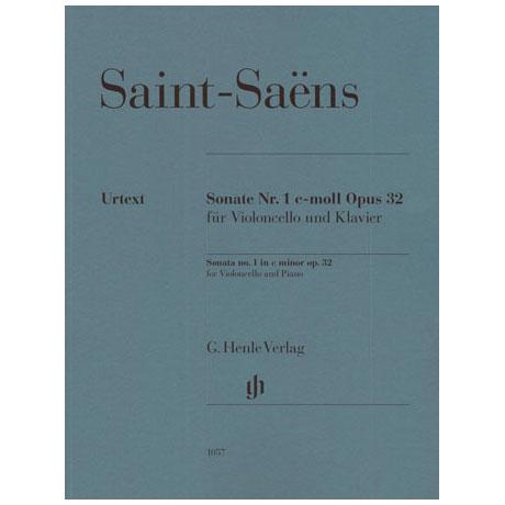 Saint-Saëns, C.: Sonate Nr. 1 Op. 32 c-Moll