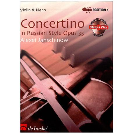 Janschinow, A.: Concertino im russischen Stil Op.35 (+CD)