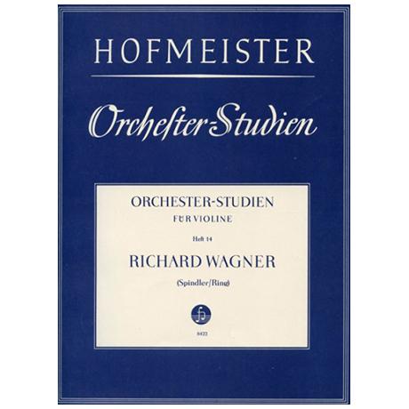 Ring, H./Spindler, F.: Orchesterstudien Heft 14: Wagner – Tannhäuser
