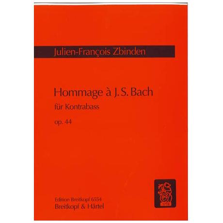 Zbinden, J.F.: Hommage à J.S.Bach Op.44