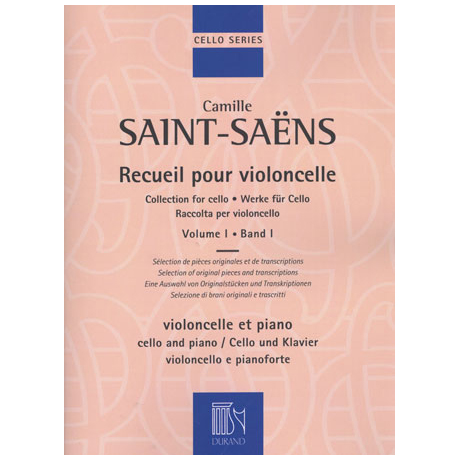 Saint-Saëns, C.: Werke für Cello Band 1
