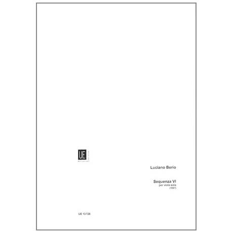 Berio, L.: Sequenza IV