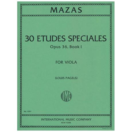 Mazas, J.: Etudes Speciales Op. 36 Band 1
