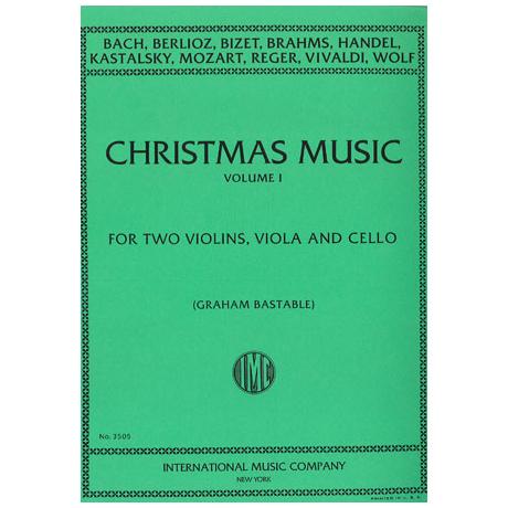 Weihnachtsmusik für Streichquartett Band 1